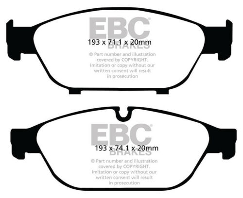 EBC RedStuff Front Brake Pads for Audi A7 Quattro 4G8 3.0 TwinTD 313 DP32086C