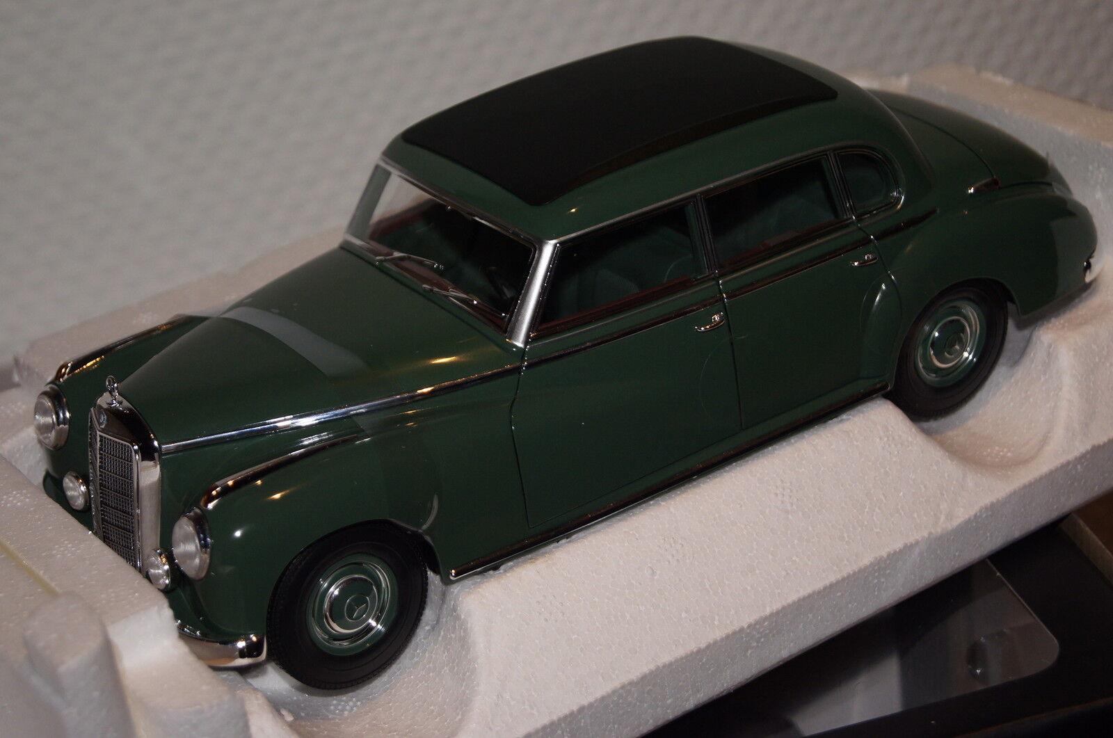 MERCEDES 300 1955 vert 1 18 NOREV NOUVEAU & OVP 183516