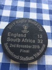 2019 Rugby World Cup England vs South Africa. Final