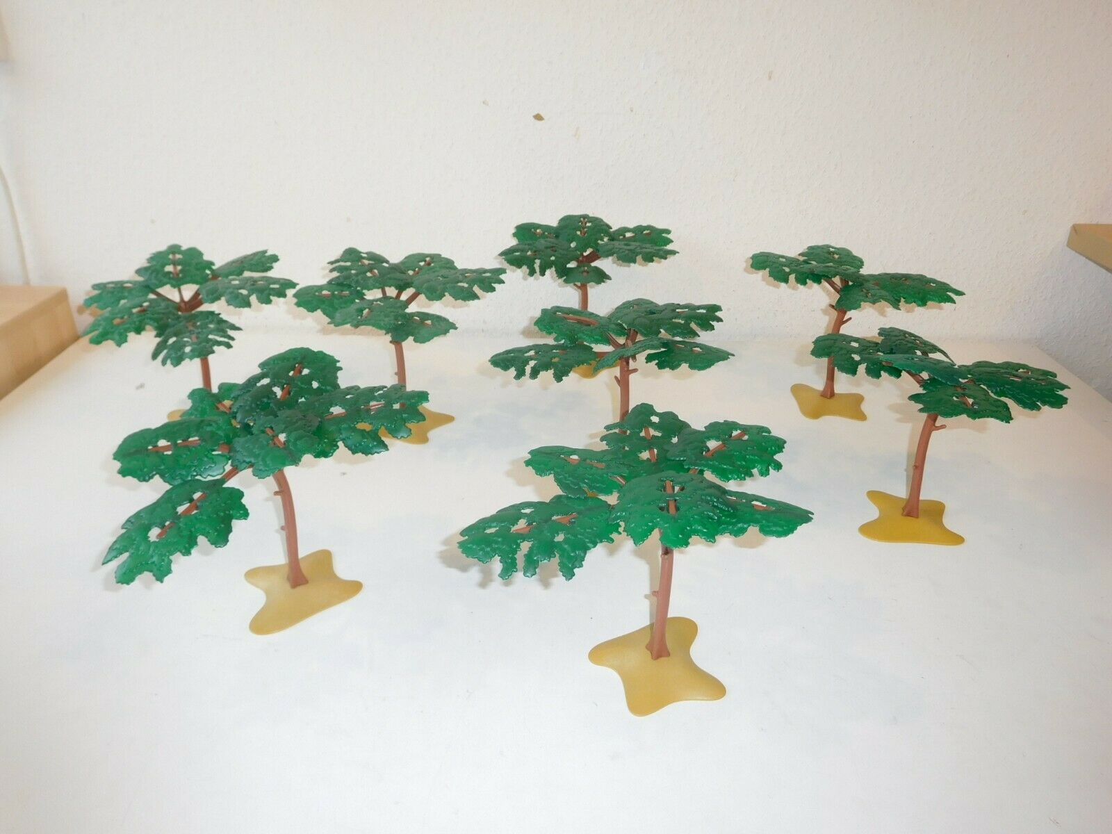 8 x PLAYMOBIL Forest Savanna  Africa Tree for 3414 3548 3433 6475 3666 5300  migliori prezzi e stili più freschi