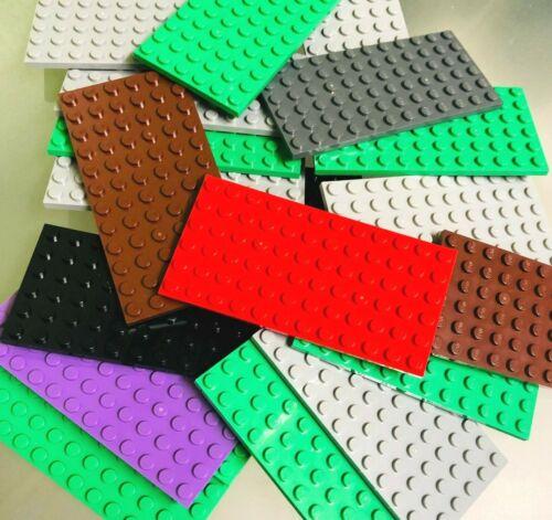 Lot of 10 LEGO Base plates thin 6x12 dot base plate
