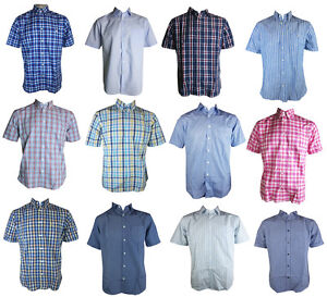 Image Is Loading Ex M Amp S Mens Shirts Short Sleeve