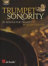 Trumpet Sonority 20 Adagios Sheet Music Book with CD Allen Vizzutti