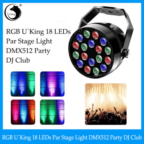 18LED 36W RGB Strobe Stage Effect Lighting For DJ Disco Part