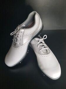 Golf Shoes white gray soft spikes   eBay
