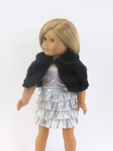 Silver Glamour Girl Gown for 18/'/' dolls by  American Fashion World New