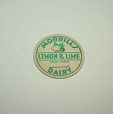Concord New Hampshire Vintage Milk Bottle Cap from HF Morrill Milk /& Cream