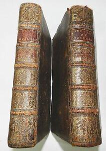 OEUVRES-DE-MR-BOILEAU-DESPREAUX-TOMES-1-et-3-SATIRES-HEROS-DE-ROMAN-1716