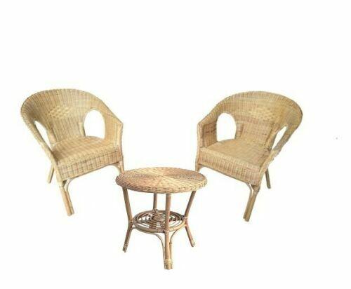 Set Di Tavoli E Sedie Da Esterno In Vimini Acquisti Online Su Ebay