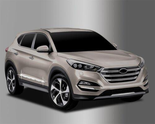 Auto Clover Chrome Side Door Trim Set for Hyundai Tucson 2015+