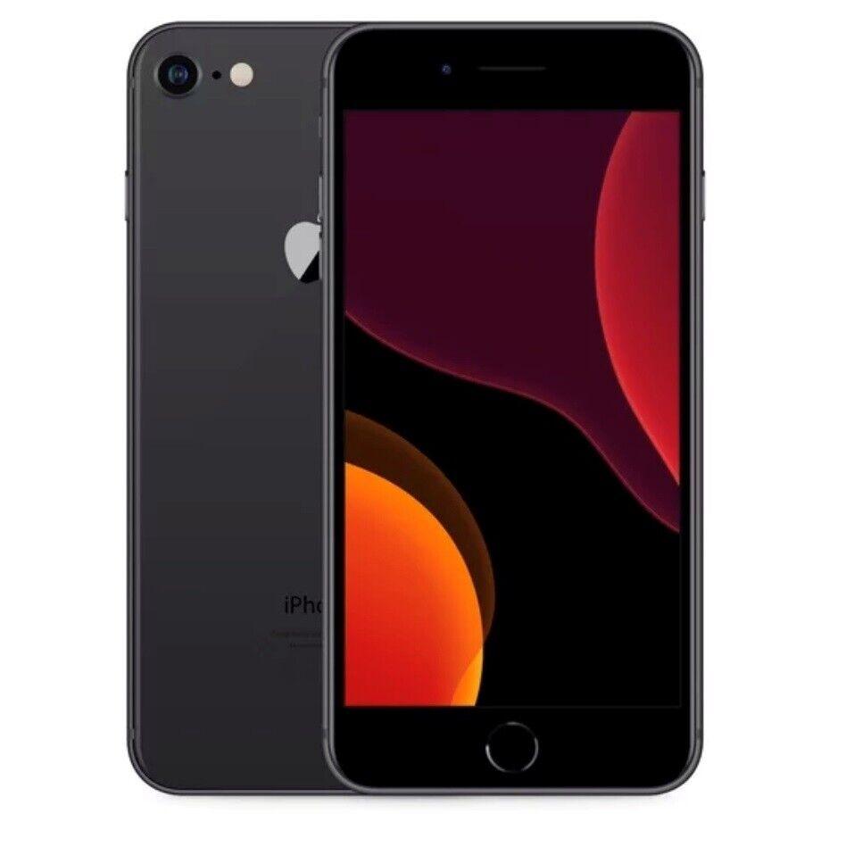 iPhone 8 Plus, 64 GB, grå
