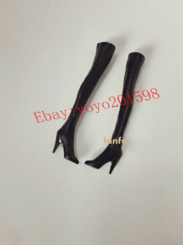 Phicen Snow Soldier Long Boots Shoe For 1:6th TBLeagure Female Figure Doll Toys