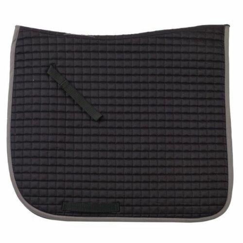 """Ovation Pro Mini Quilt Show Saddle Pad-DRESSAGE 25/"""" colonne vertébrale x 23/"""" Goutte"""