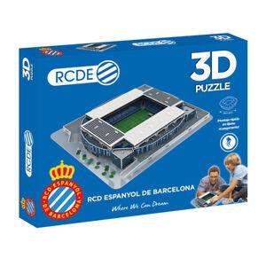 Puzzle-3D-Estadio-RCDE-Estadium-Producto-Oficial-RCD-Espanyol-Montaje-Rapido
