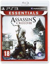 PS3 Spiel Assassins Assassin's Creed 3 III  NEU