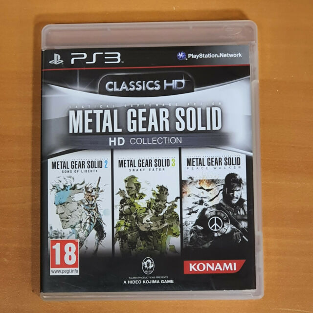 METAL GEAR SOLID HD COLLECTION sur PS3 complet