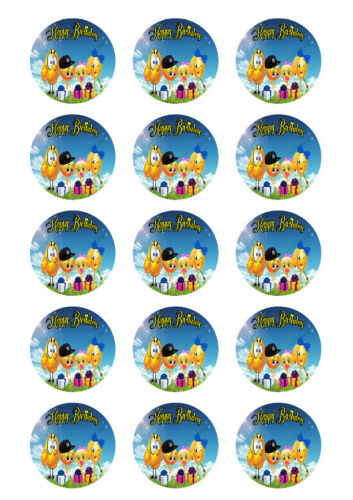 Emoji Personalized Edible Print Premium Cake Topper Frosting Sheets 5 Sizes
