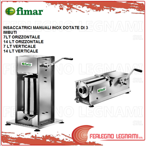 Bagging-Machine-Man-Horizontal-Vertical-Stainless-Featuring-of-3-Funnel-Fimar