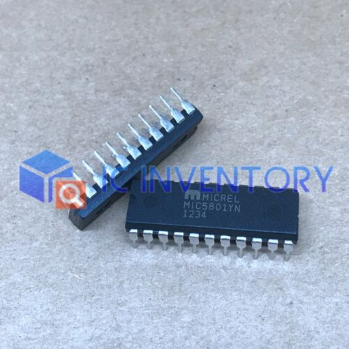 1PCS MIC5801YN Encapsulation:DIP-22,IC DARLINGTON ARRAY 8 LATCHEDIC,