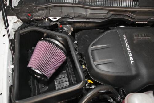 63-1571 2014-2016 Dodge Ram 3.0L V6 Diesel K/&N Cold Air Intake System 11HP