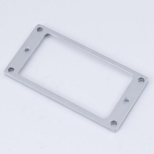 1Pc Metal flat humbucker pickup mounting ring frame for guitar XJ