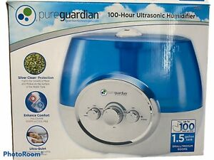 Pure Guardian H1510 100-Hour Ultrasonic Warm and Cool Mist Humidifier NEW