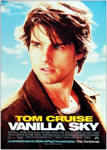 Vanilla Sky Tom Cruise Classic Large Movie Poster Art Print Maxi A1 A2 A3 A4