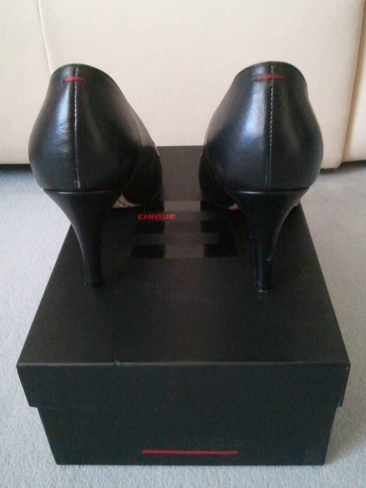 CINQUE Pumps CITONI, CITONI, CITONI, Größe 38, schwarz a56661