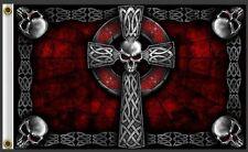 Skull Tattoo Celtic Cross Flag Biker Punks Anarchy Shop/Parlour Band Irish bn