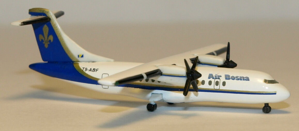 Herpa Wings 1 500 Air Bosna ATR-42 prod id 512213 released 2000