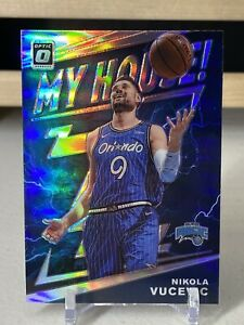 2019-20-Donruss-Optic-Nikola-Vucevic-My-House-Silver-Prizm-Holo-Refractor