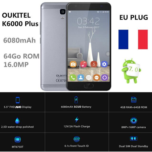 OUKITEL K6000 Plus 4G Smartphone 5.5