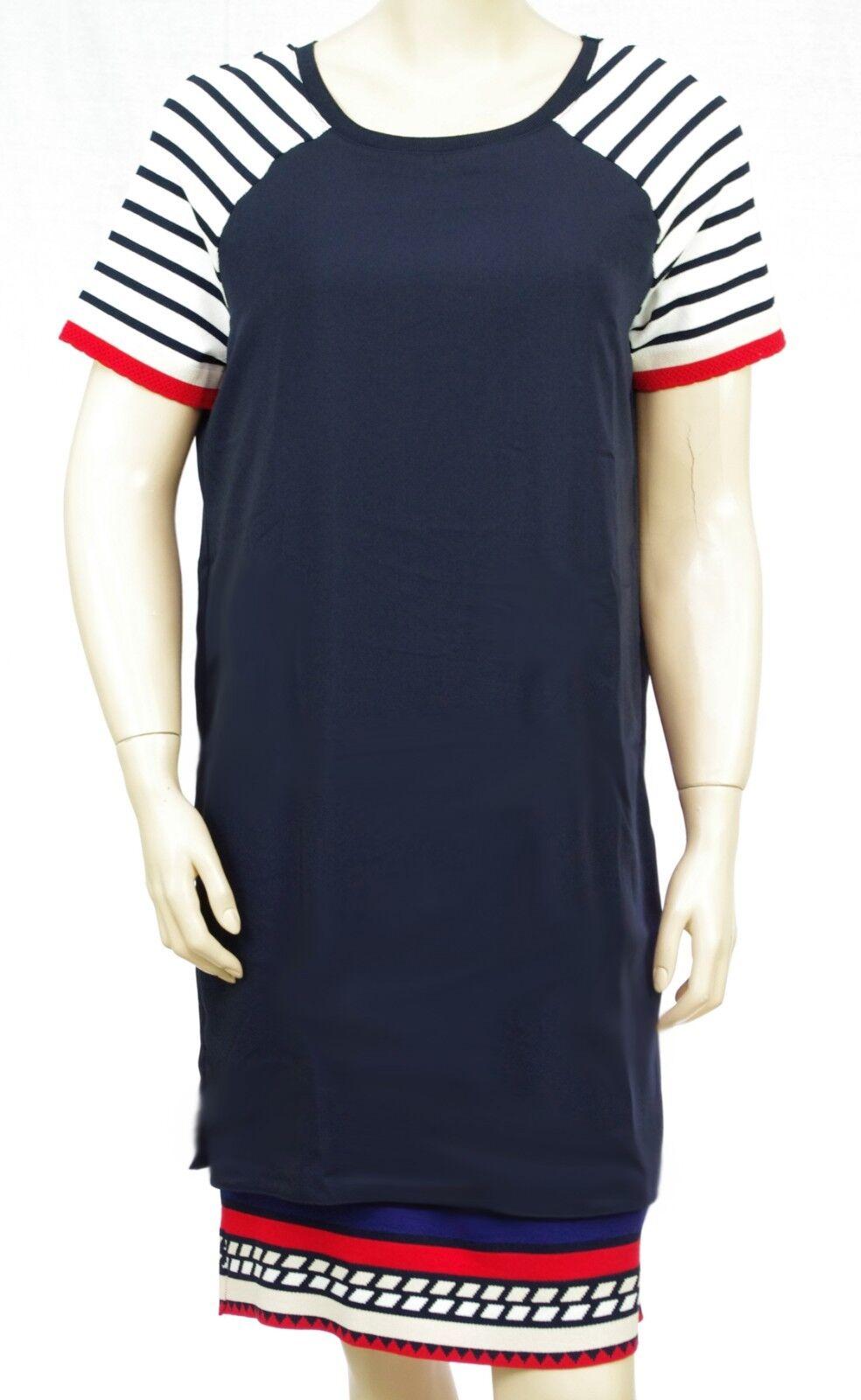 DESIGUAL robe voile Vest OLIVIA bleu marine femme 18SWVWBY 5000