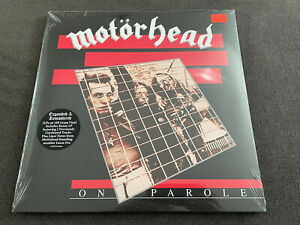 Motorhead - On Parole (Expanded) 2 LP RSD Black Friday 2020 NEW Sealed 180g