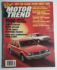 MOTOR TREND CAR MAGAZINE 1979 MAY PONTIAC PHOENIX