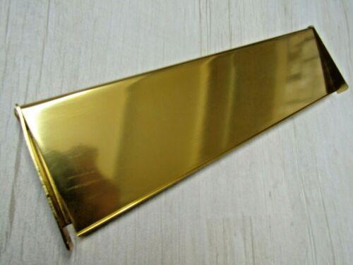 Or Aluminium Avant Porte Interne Externe Lettre Boite Postal Plaque Housse