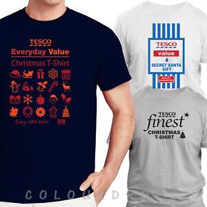 396f8acd Tesco Every-Day Value Christmas T-Shirt Value Secret Santa Gift ...