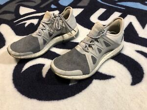 Adidas PureBOOST Xpose Shoes (Clear Grey Silver Metallic