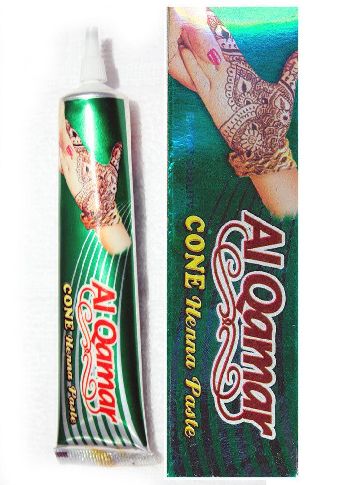 Henna Tattoo Cones For Sale: Al Qamar TOP Quality Henna Mehndi Hand Body Art Tattoo