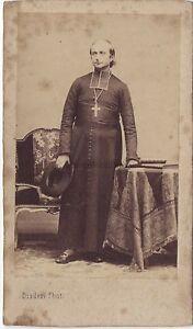 Ecclesiastique-Religion-Portrait-cdv-Disderi-Paris-Vintage-albumine-ca-1860