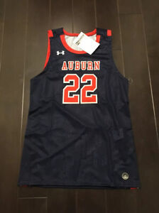 Details About Under Armour Men S Auburn Tigers Reflexx 22 Basketball Jersey Sz L New Barkley