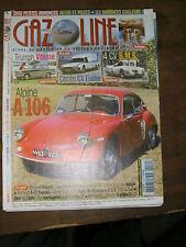Gazoline N° 112 2015 Automobile ancienne Alpine A 106 Triumph Coquilles bielle
