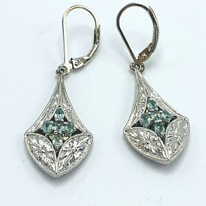 Generation-1912-Alexandrite-Tear-Drop-Sterling-Silver-Earrings