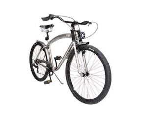 Dettagli Su Bici Cafe Racer Matt Grey Unieuro Nuova Ed Imballata