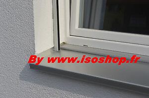 Appui De Fenêtre Brut Aluminium Tablette Isolation Thermique
