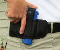 Quick Draw Holster For S&w M&p Shield Lay Flat Conceal Carry Belt Design Ambi
