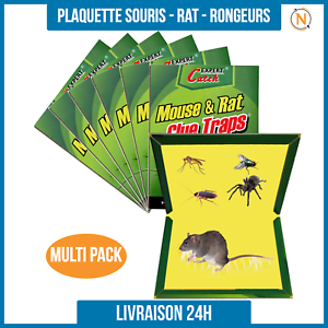 Piege-a-Colle-glue-pour-Rats-Souris-Insecte-Tres-Efficace-Non-Toxique