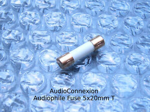 T1-0A-Audiophile-1A-Sicherung-5x20mm-Feinsicherung-Traege-slow-blow-vergoldet