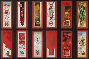 Canada 2021 Lunar New Year cycle $2.71 panes complete set of 12,cut full margins