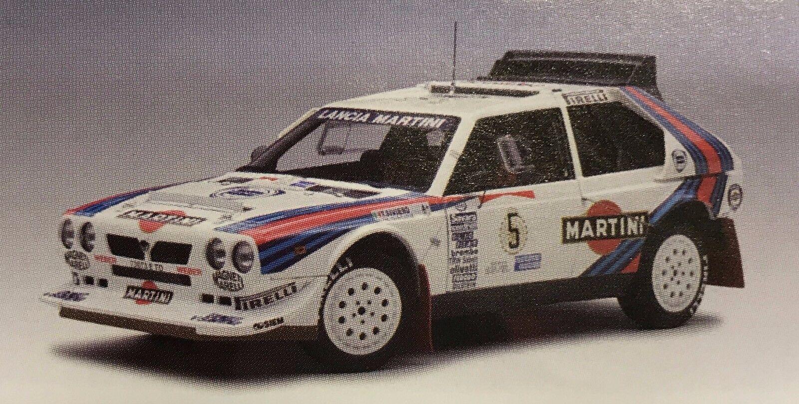 Le rythme cardiaque est pire que l'action! Lancia delta s4 Rally Winner Argentinia 1986 #5 1:18 AUTOart | économique Et Pratique  | De La Mode